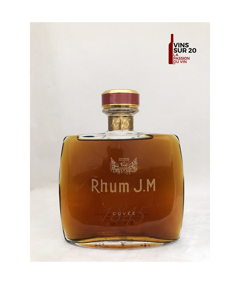 RHUM J.M - CUVÉE 1845 - 42° - 70CL - MARTINIQUE