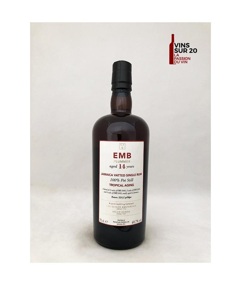 RHUM SVM - EMB PLUMMER - TROPICAL AGING - 14 ANS - 69.7° - 70CL