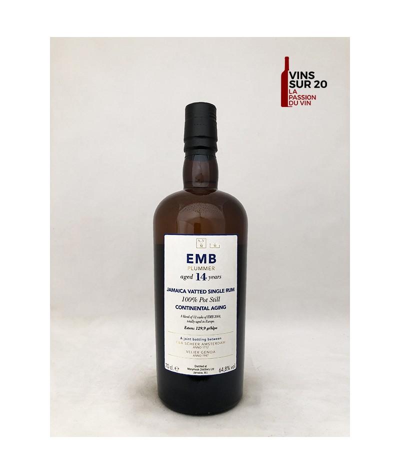 RHUM SVM - EMB PLUMMER - CONTINENTAL AGING - 14 ANS - 64.8° - 70CL