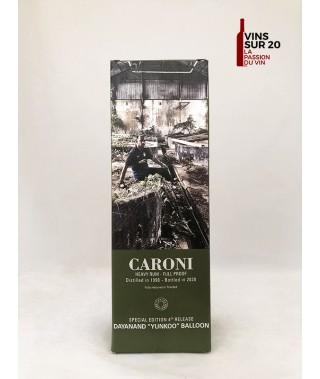 "CARONI - 22 ANS - 1998 - DAYANAND ""YUNKOO"" BALLOON - 68.3° - 70CL"