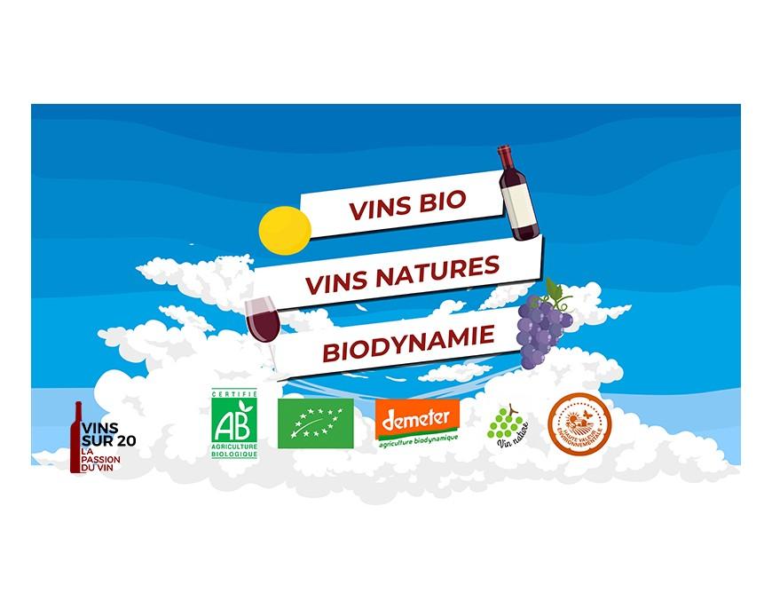 Qu'est-ce qu'un vin bio, nature et/ou demeter ?
